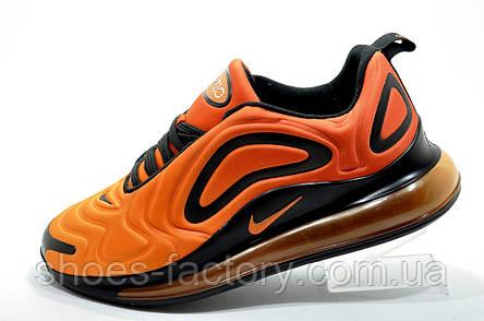 Мужские кроссовки в стиле Nike Air Max 720, Оранжевый/Чёрный, фото 2