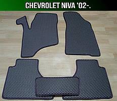 ЄВА килимки на Chevrolet Niva '02-. EVA говры Шевроле Нива