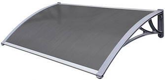 Навіс для вхідних дверей Siker 1000-C (1000*1200) сірий (90100003)