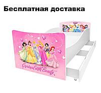 Детская кровать Принцессы Дисней (Disney Princess) Диснея