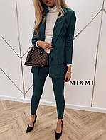 Костюм женский стильный лосины и пиджак