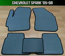 ЄВА килимки на Chevrolet Spark '05-08. EVA говры Шевроле Спарк
