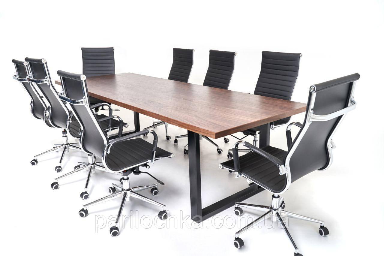Дизайнерские стол в стиле лофт, для офисов и переговоров