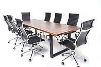 Дизайнерские стол в стиле лофт, для офисов и переговоров, фото 1