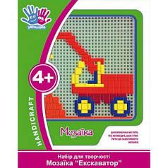 Набор для творчества 3D Мозаика Экскаватор 951046
