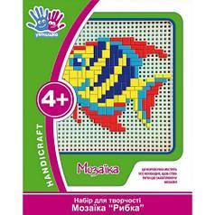 Набор для творчества 3D Мозаика Рыбка 951047