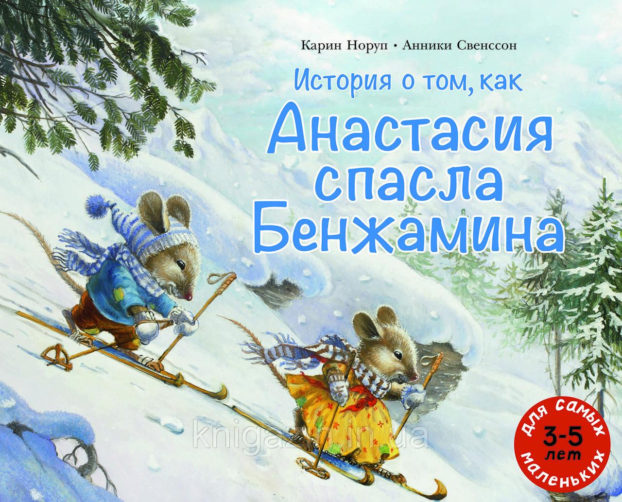 Детская книга История о том, как Анастасия спасла Бенжамина Для детей от 3 лет