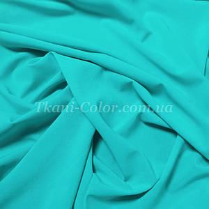 Ткань креп-шифон голубая мята