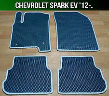 ЄВА килимки на Chevrolet Spark EV '12-. EVA килими Шевроле Спарк ев