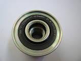 Шкив генератора 6PK демпферный на Renault Trafic / Opel Vivaro 1.9dCi +AC (2001-2006) INA (Германия) 535003010, фото 3