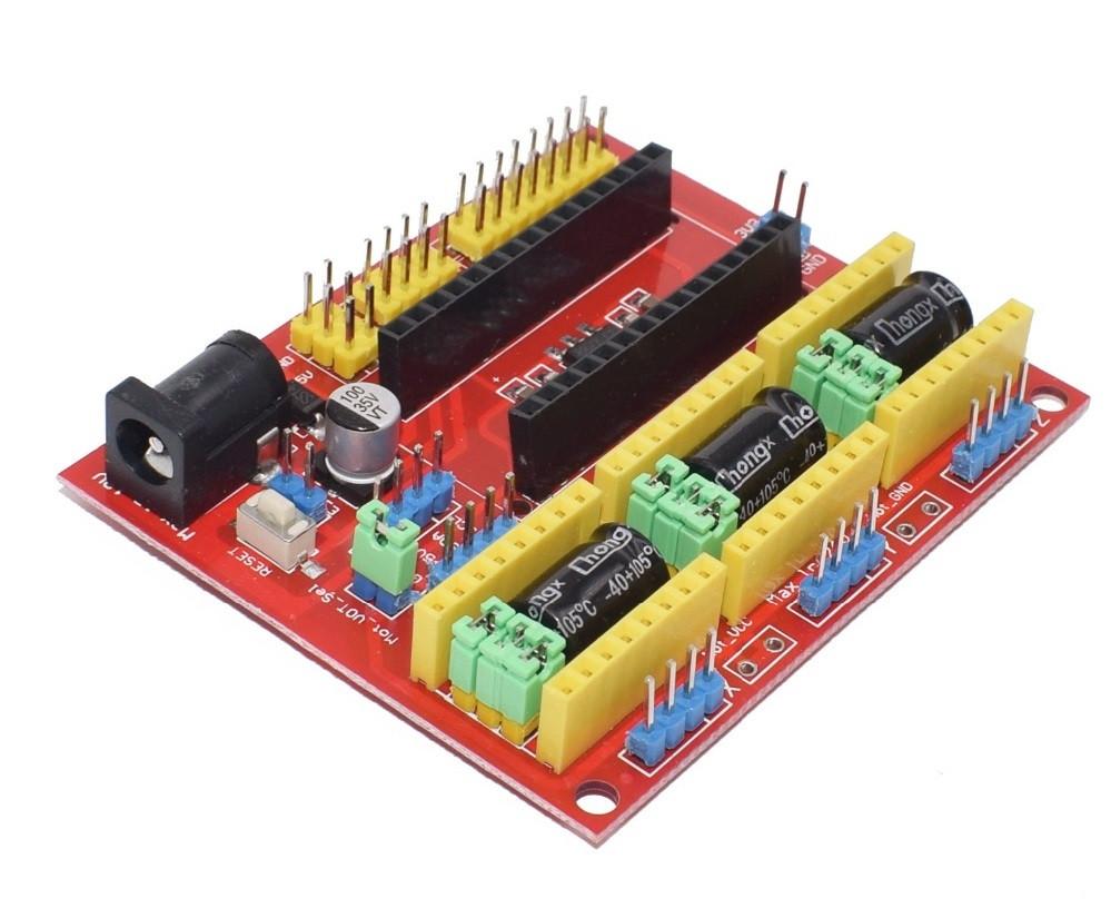 Шилд 3D CNC для Arduino Nano