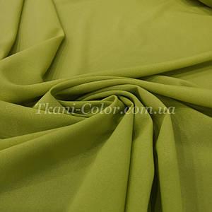 Ткань креп-шифон оливковый