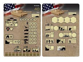 """Американский танк """"Абрамс"""" А1М1. Сборная модель, сборка без клея. 1/100 ZVEZDA 7405, фото 2"""