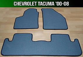 ЄВА килимки на Chevrolet Tacuma '00-08. EVA килими Шевроле Такума