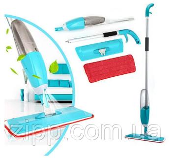 Паровая спрей швабра с распылителем Healthy Spray mop   Паровая швабра