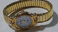 """Стильные женские кварцевые наручные часы на браслете """"резинкой"""" SUNEX""""."""
