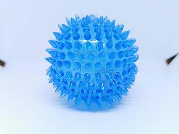 Мяч светящийся для собак d 8см