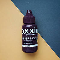 30мл, Каучуковое базовое покрытие для гель-лака Rubber Base  OXXI