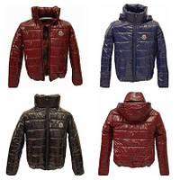 Куртка дутик женская демисезонная ОПТ, много расцветок, модель Мира Лак, Бордо, размеры 42-48