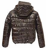 ОПТОМ Куртка дутик жіноча демісезонна з капюшоном від виробника, модель Світу Лак, розміри 42-48, фото 7