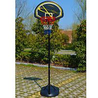 Стойка баскетбольная YOUTH MOBILE BASKETBALL HOOP 165-225 см детская передвижная (BA-S016), фото 1