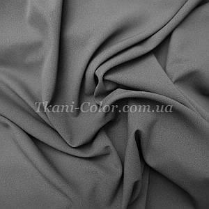 Ткань креп-шифон серый