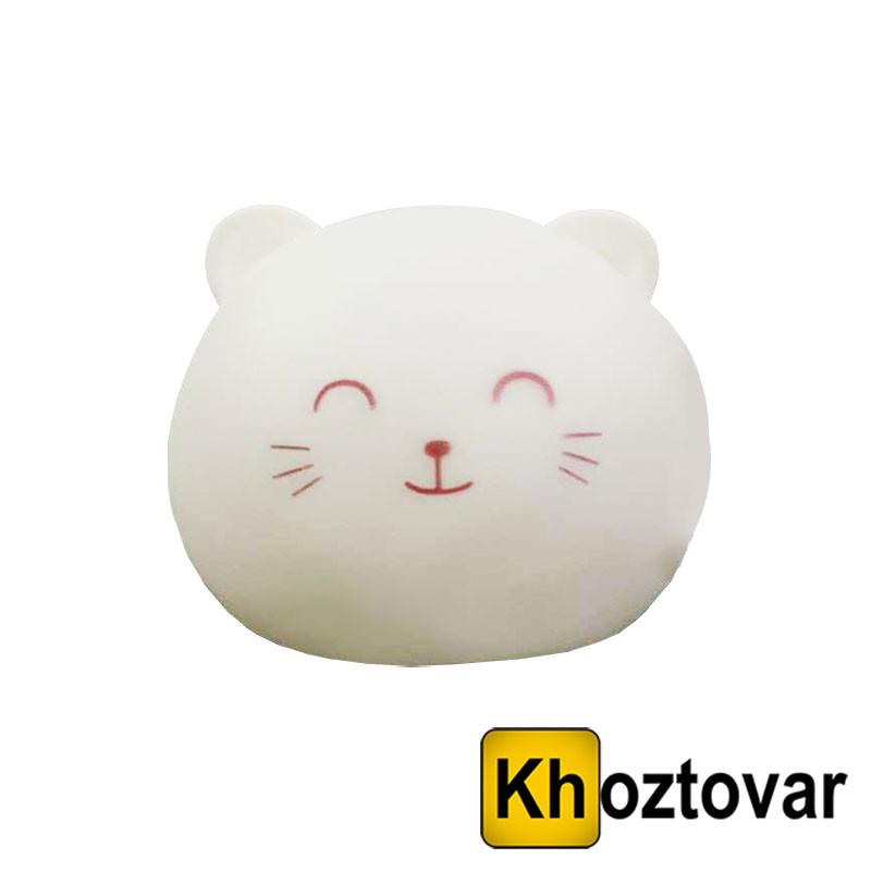 """Сенсорный ночник """"Круглый котик"""""""