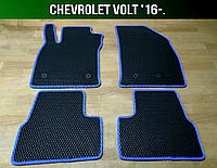 ЕВА коврики на Chevrolet Volt '16-. Ковры EVA Шевроле Вольт, фото 1
