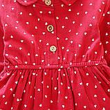 Хлопковое платье для девочки размер 104., фото 4