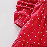 Хлопковое платье для девочки размер 104., фото 5