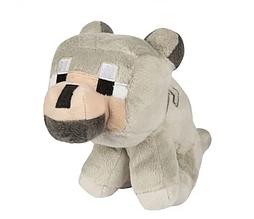 Волк из игры Майнкрафт мягкая игрушка