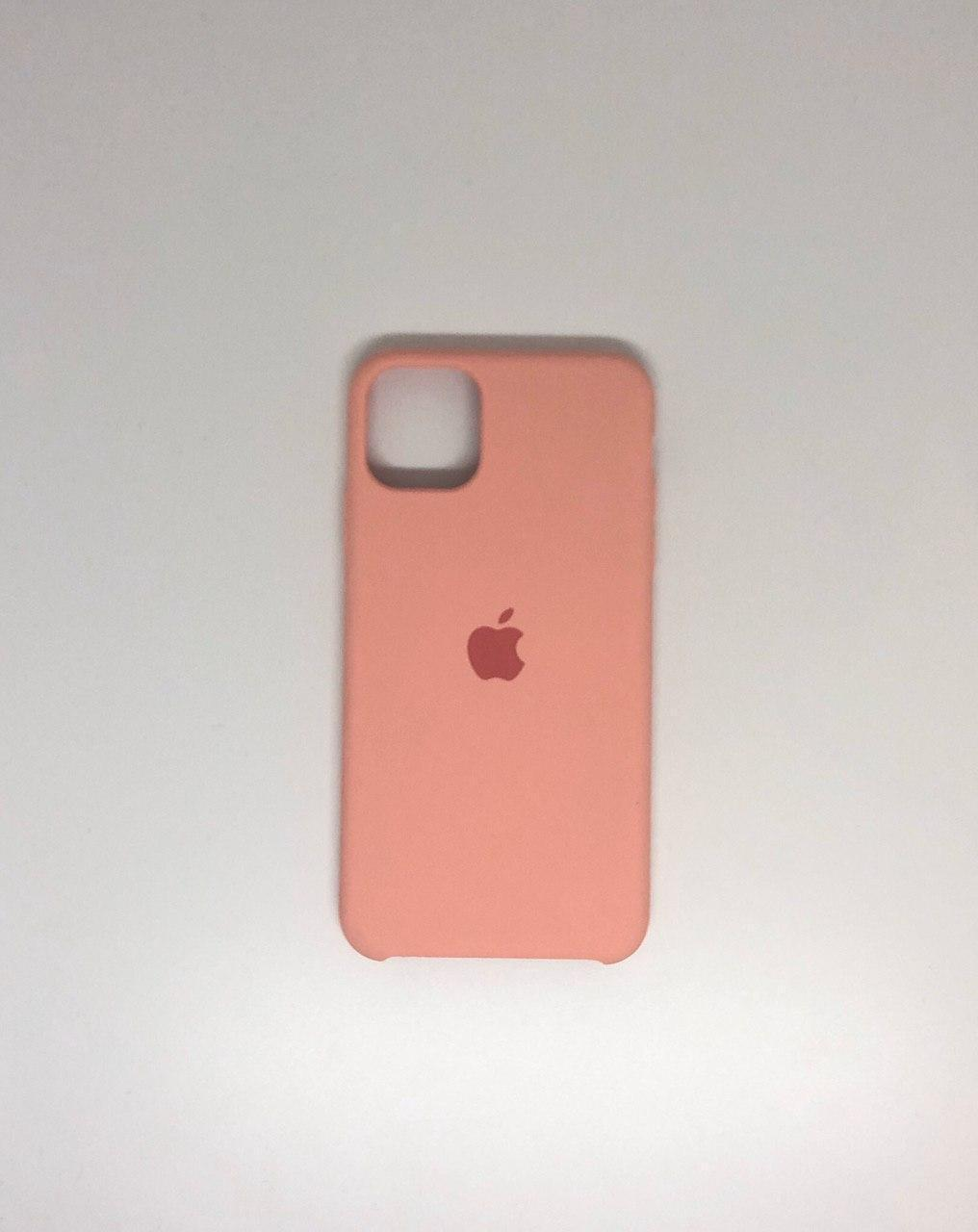 "Чехол Silicon iPhone 11 Pro Max - ""Нежно-розовый №12"""