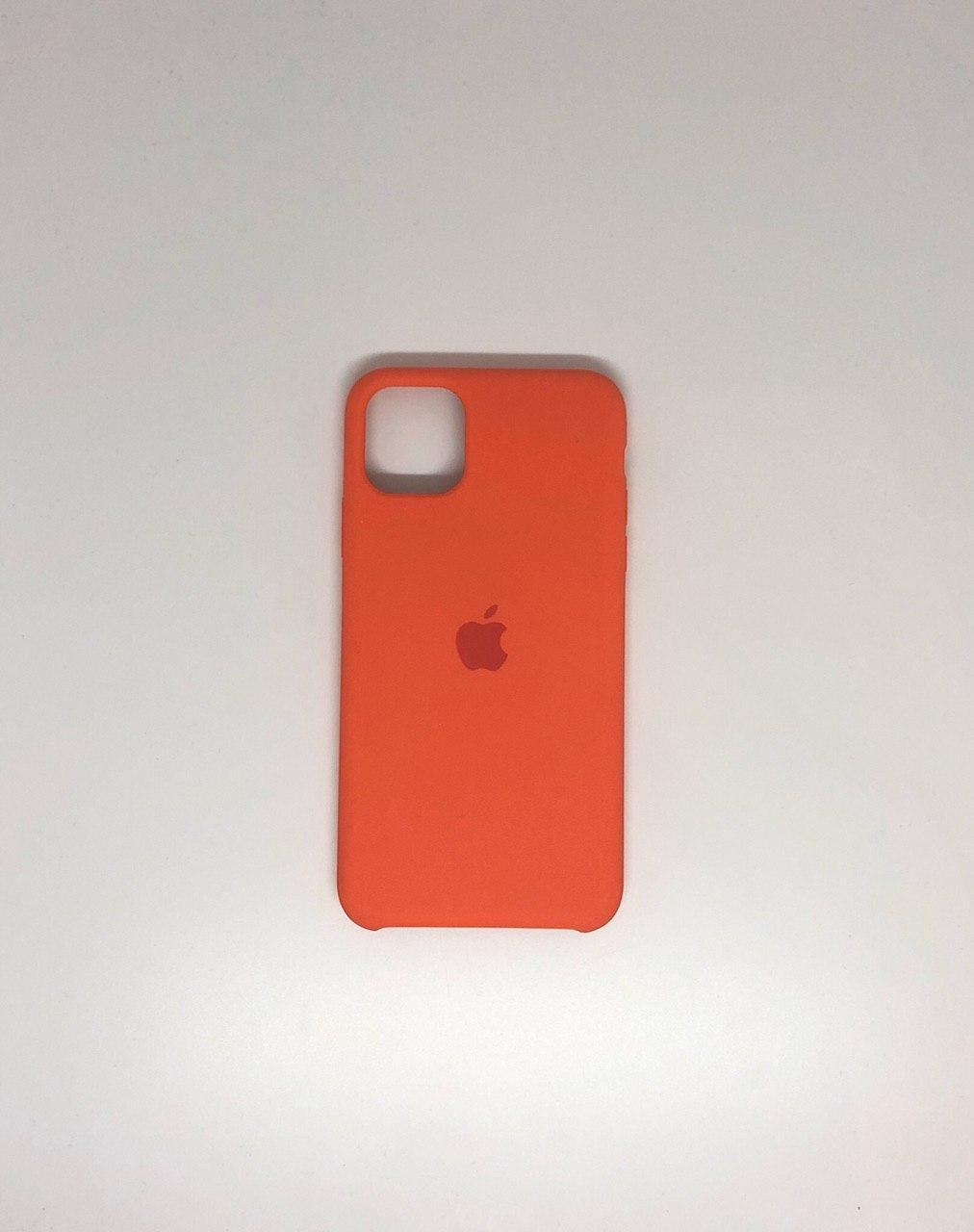"Чехол Silicon iPhone 11 Pro Max - ""Оранжевое настроение №13"""