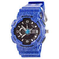 Яркие женские часы Casio Baby G GA-110 цвет джинса