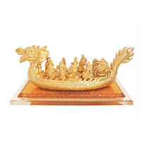 Талисман удачи 9 Богов Богатства на Золотом Драконе