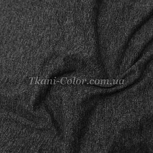 Ткань кулир стрейч темно-серый
