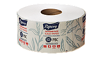 Туалетная бумага джамбо белая 2 слоя 75 м