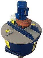 Растворосмеситель принудительного типа СБП - 400/150 литров.  Бетонозмішувач примусової дії 400/150