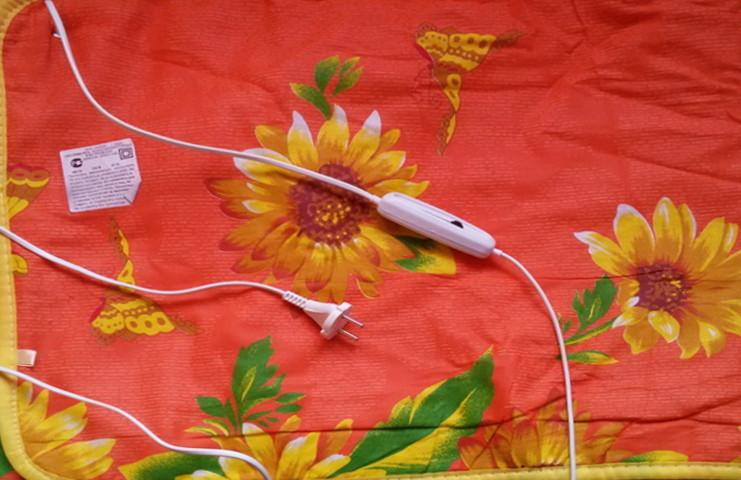Электропростынь New Ket 120x155 утолщенная - прошитая - Турция (Электро простынь) T-54866