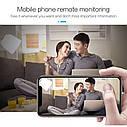 Wsdcam A11 1080P беспроводная охранная мини WiFi  IP камера с батареей. Pixelplus, фото 5