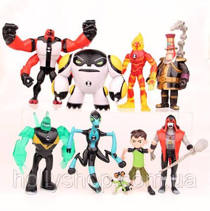 Игровой набор фигурок героев Ben 10 10-14 см + Свет#5, фото 2