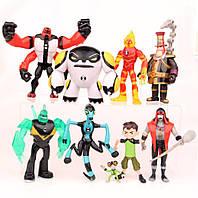 Игровой набор фигурок героев Ben 10 10-14 см + Свет#5