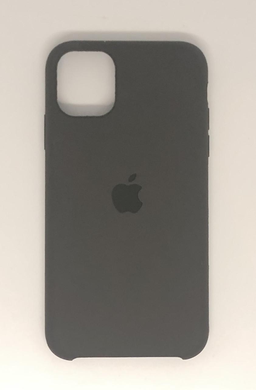 "Чехол Silicon iPhone 11 Pro Max - ""Серый №15"""