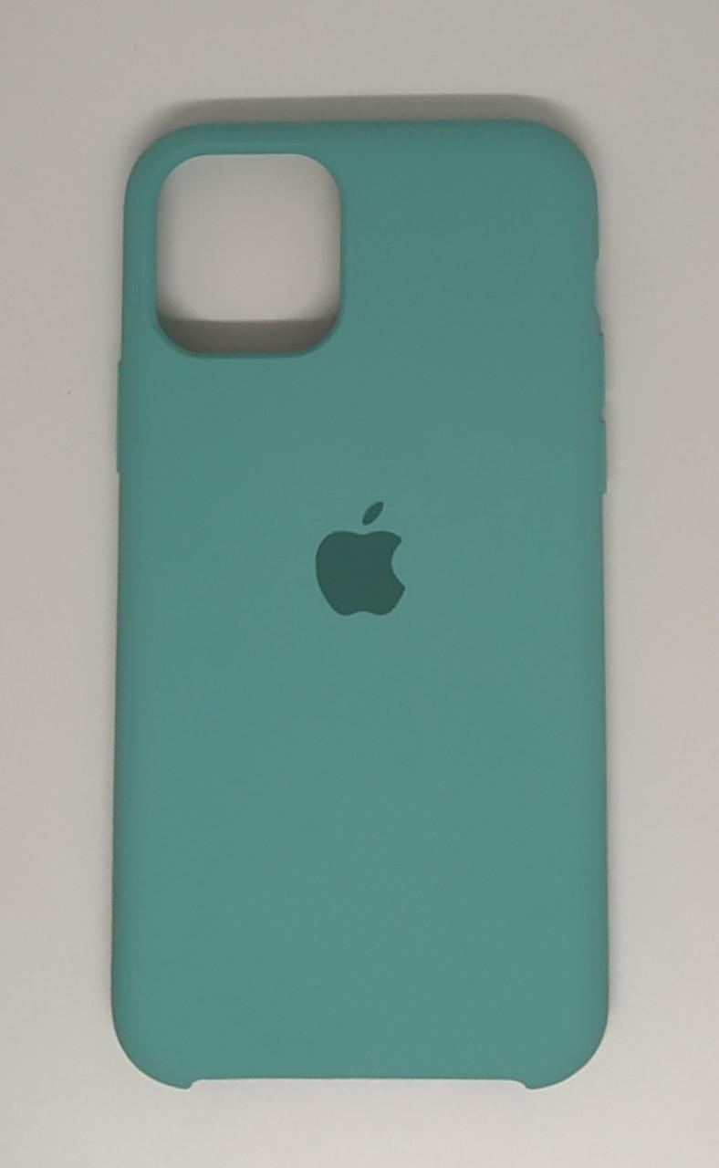 "Чехол Silicon iPhone 11 Pro Max - ""Зеленая лагуна №21"""