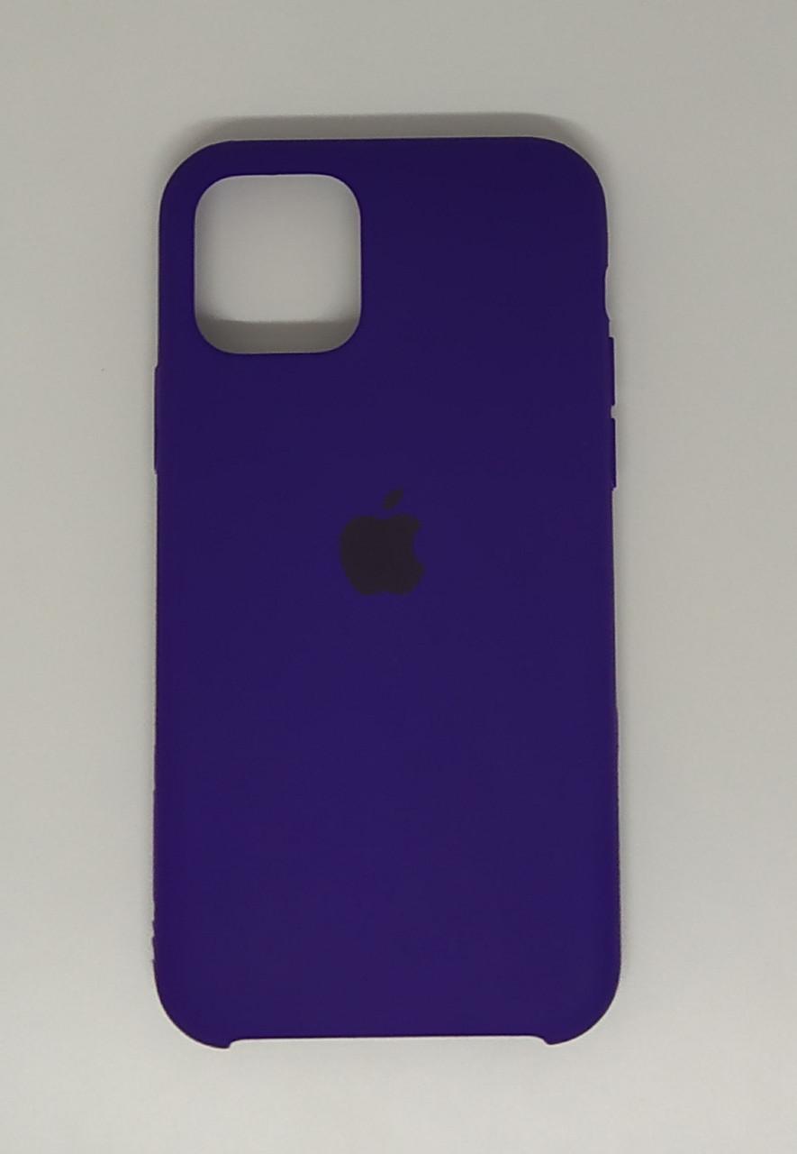 "Чехол Silicon iPhone 11 Pro Max - ""Ультрафиолет №30"""