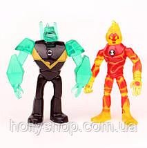 Игровой набор фигурок героев Ben 10 10-14 см + Свет#5, фото 3