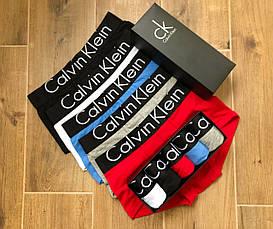 Набор мужского нижнего белья Calvin Klein Black Style, трусы Кельвин Кляйн, 5 удобных боксерок! Реплика!