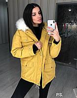 Женская дутая куртка оверсайз. В цветах