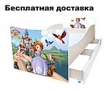 Детская кровать Волшебные бабочки, фото 2