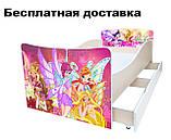 Детская кровать Волшебные бабочки, фото 3